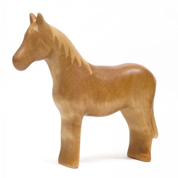 nußbraunes Pferd von buntspechte-holzspielfiguren.de
