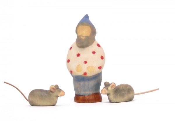 Pünktchenzwerg mit Mäusen
