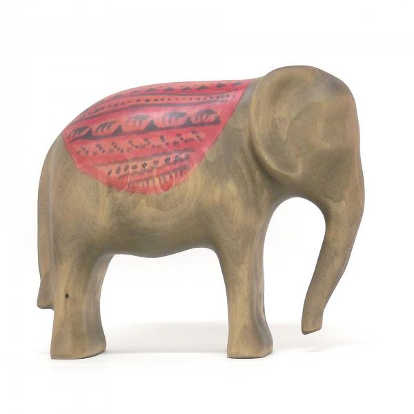 kleiner Elefant mit Decke