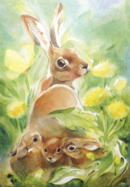 Postkarten-Set Im Frühjahr