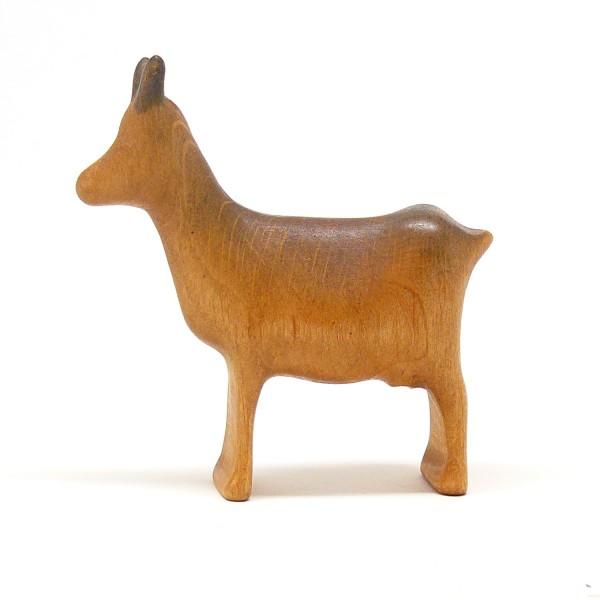 Ziege aus Holz  von buntspechte-holzspielfiguren.de