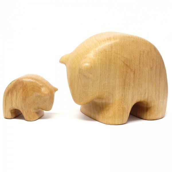 Kullerbären, hell 2-er Set