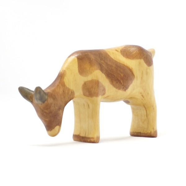grasende Ziege aus Holz  von buntspechte-holzspielfiguren.de