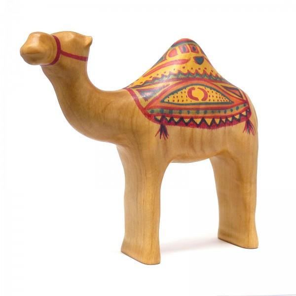 königliches Kamel mit handgemalter, herrlicher Decke