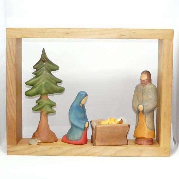 Bilderrahmen mit Weihnahtsfamilie