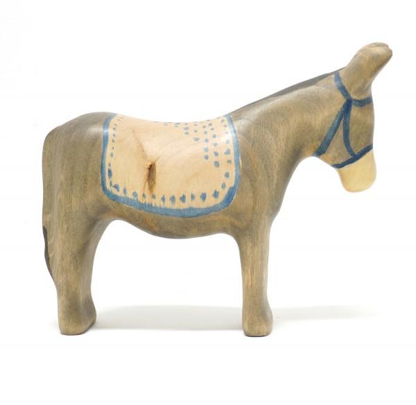Esel mit Decke