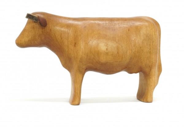 einfarbig braune Kuh