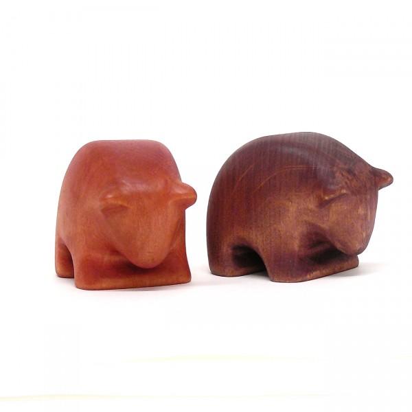 Himbär und Brombär auf Futtersuche