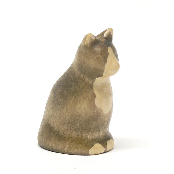 sitzende Katze von buntspechte-holzspielfiguren.de